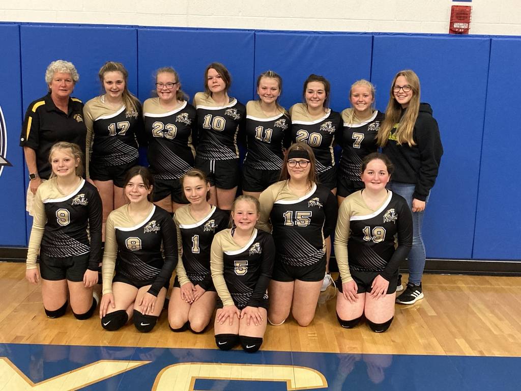 South Holt JH VB 3rd place in Conference tournament.