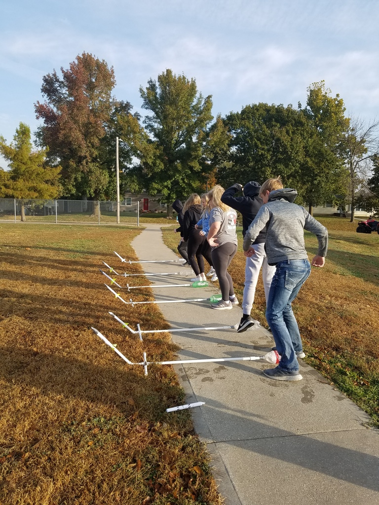 7th grade STEM: Stomp Rocket Launch
