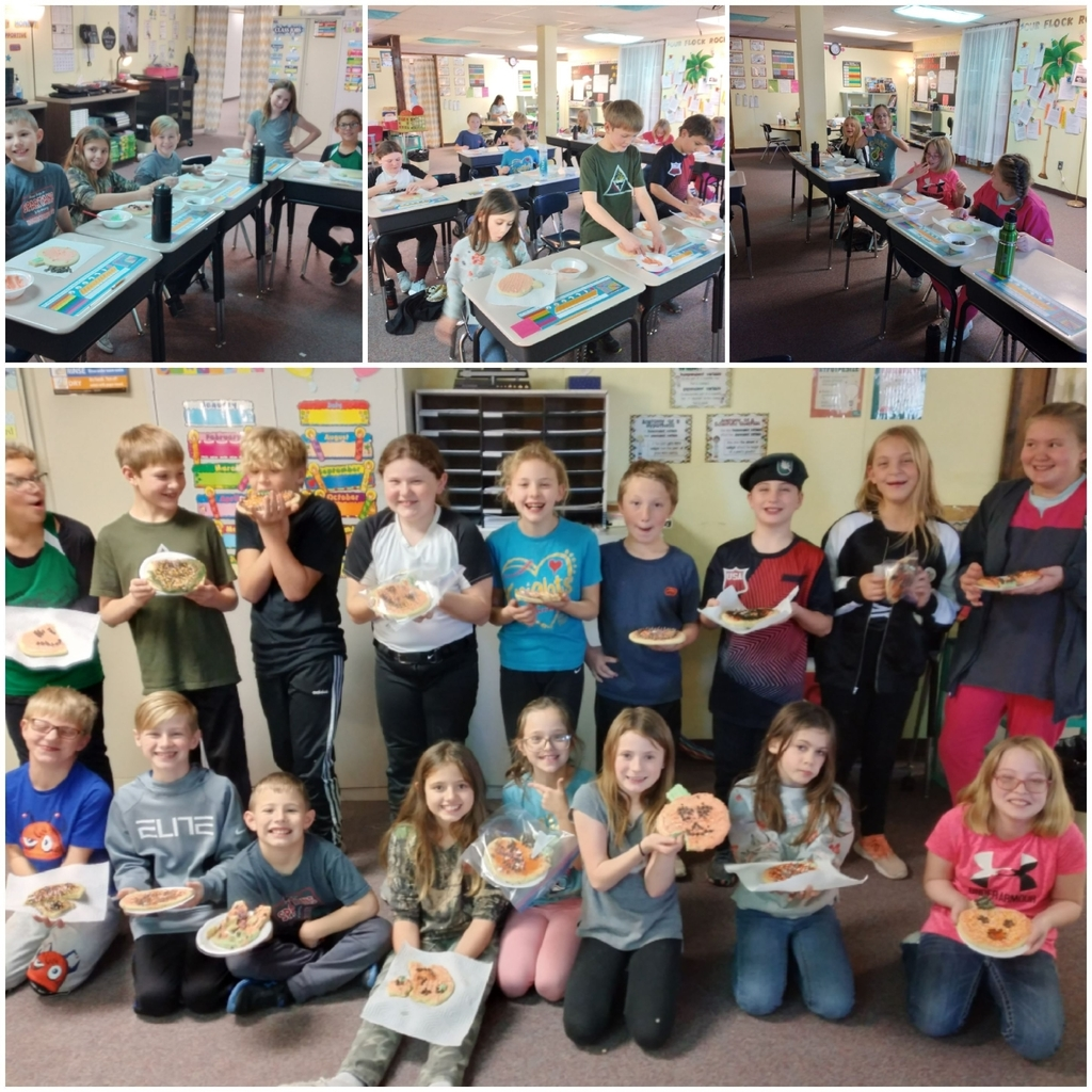 4th grade enjoyed pumpkin cookies