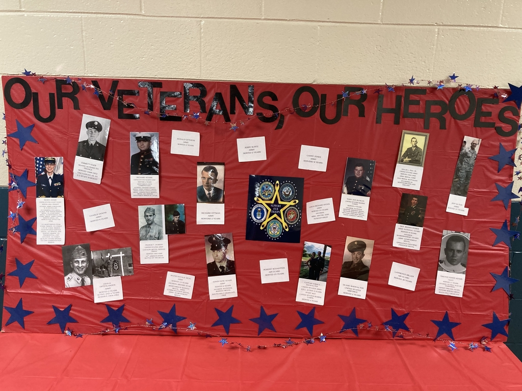"South Holt students say ""Thank You"" to area veterans."
