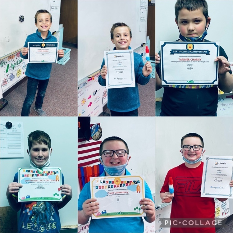 Congratulations to these 2nd graders for passing levels in Moby Max and Xtra Math