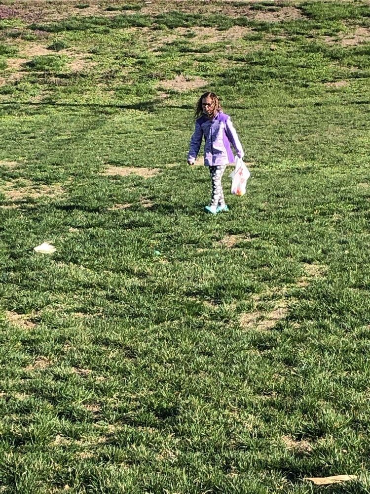3rd grade Easter Egg hunt