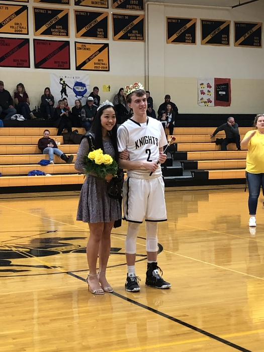 Congratulations to our King and Queen, Olivia and Eric.