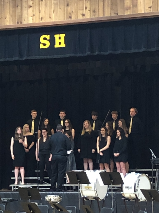High School Choir.