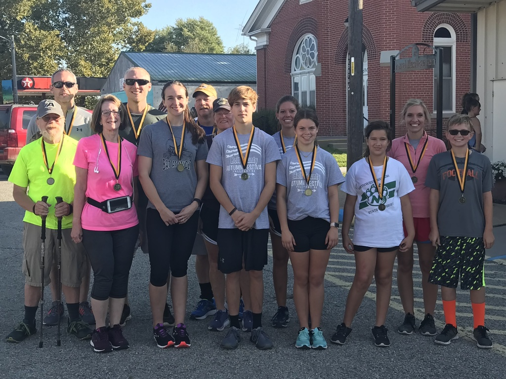 Congratulations to the Autumn Festival 5K Run Age Division Winners