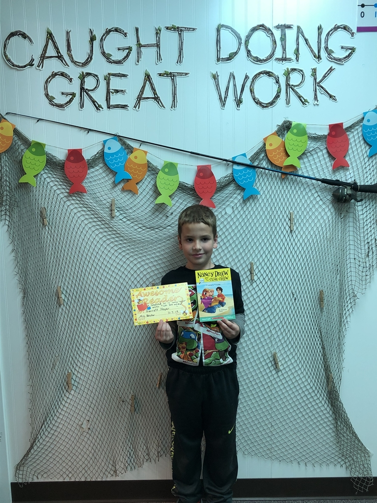 He also passed all second grade sight words, reading 300 words! Earned himself another certificate and a new chapter book!
