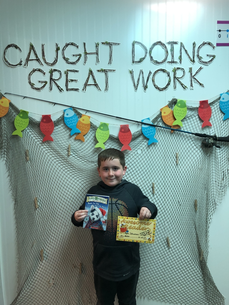 Ryan was our first 2nd grader to read all 300 sight words earning himself a certificate and chapter book!