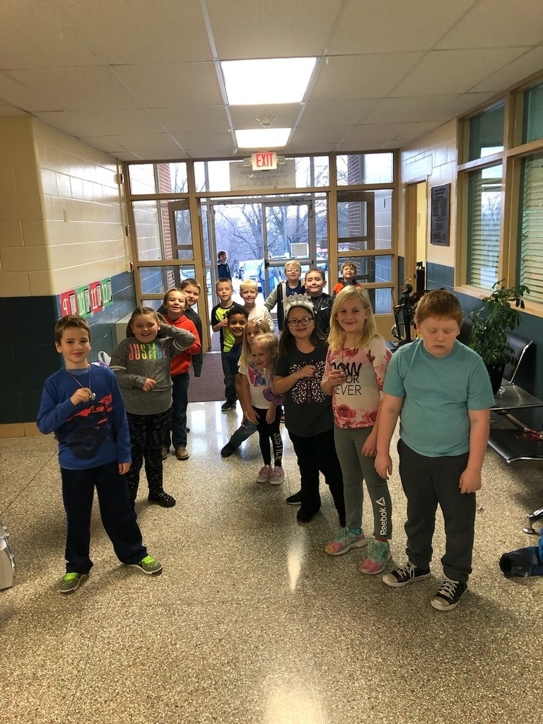 2nd graders rocked High Five Friday this morning.