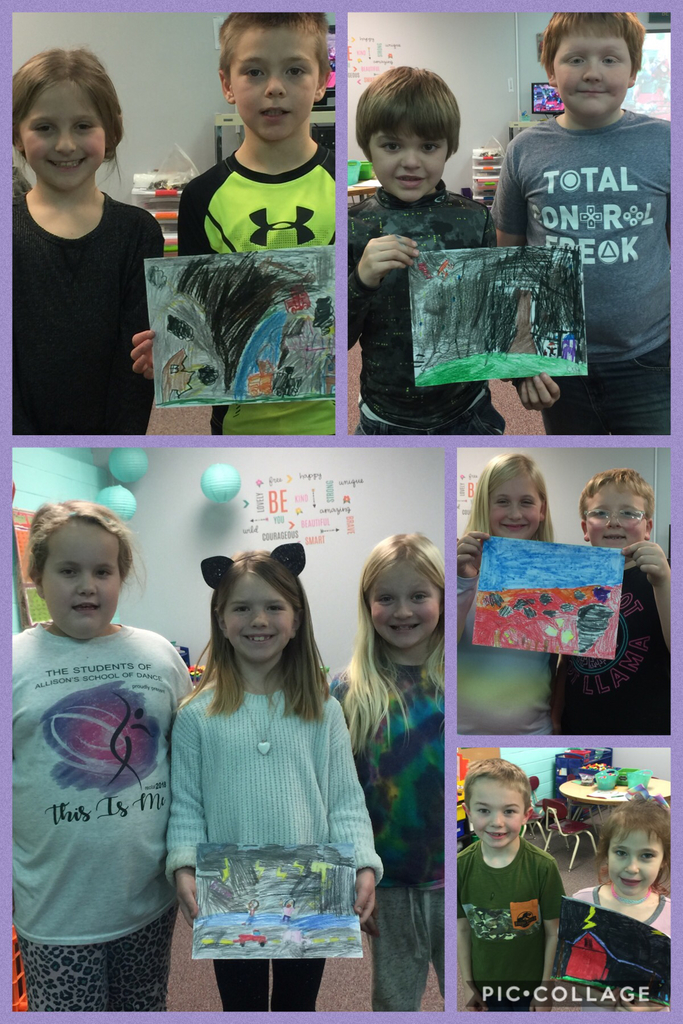Weather Around Us: Ms. Showalter's class takes weather into their own hands and creates an scene. Good job!