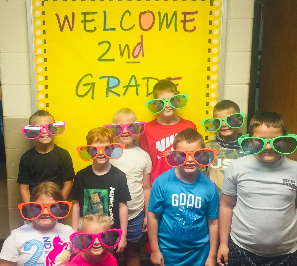 Ms. Showalter's class has a BRIGHT school year ahead.