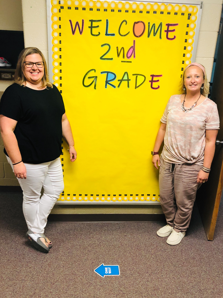 Mrs. Nester and Ms. Showalter are ready to make this year a good one.