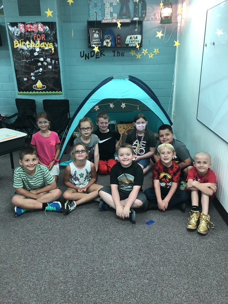 Great first day at camp-learn-a-lot in 2nd grade!